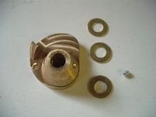 Brass progressive throttle roller